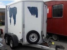 IFOR WILLIAMS BV 855G TWIN AXLE LOAD LUGGER TRAILER LOCATION N IRELAND