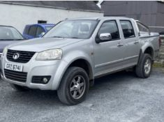 2013 GREAT WALL STEED 2.0 TD 4X4 PICK UP LOCATION N IRELAND