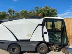 JOHNSTON 142A 101T DIESEL SWEEPER LOCATION N YORKSHIRE.