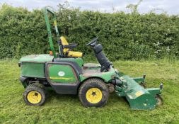 JOHN DEERE 1545 OUT FRONT FLAIL MOWER.2012 .LOCATION NORTH YORKSHIRE.