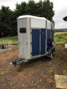 IFOR WILLIAMS 505 DOUBLE HORSE BOX .LOCATION NORTH YORKSHIRE.