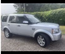 2012 LAND ROVER DISCOVERY 4.DIESEL.LOCATION NORTHERN IRELAND.