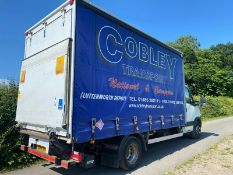2014 IVECO 70C 17 CURTAINSIDER TRUCK .LOCATION NORTH YORKSHIRE.
