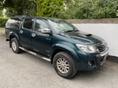 2012 TOYOTA HILUX INVINCIBLE. JEEP.LOCATION NORTHERN IRELAND.