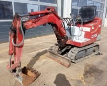 IHI IS4GH MINI DIGGER .LOCATION NORTH YORKSHIRE.