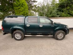 2012 TOYOTA HILUX INVINCIBLE JEEP .LOCATION NORTHERN IRELAND.