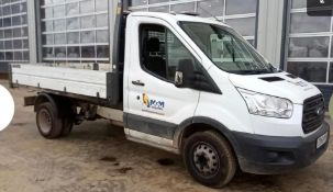 2016 FORD TRANSIT TIPPER.LOCATION NORTH YORKSHIRE.
