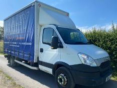 2014 IVECO 70C 17 CURTAINSIDER WITH TAIL LIFT.LOCATION NORTH YORKSHIRE.