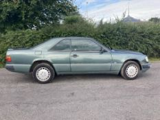 1992 MERCEDES 230E CLASSIC COUPE LOW RESERVE .LOCATION NORTHERN IRELAND.