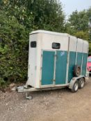 IFOR WIILIAMS 510.DOUBLE HORSEBOX.LOCATION NORTH YORKSHIRE.