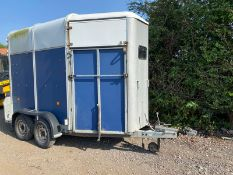 IFOR WILLIAMS 505 DOUBLE HORSEBOX.LOCATION NORTH YORKSHIRE.