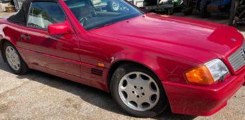 1994 MERCEDES SL 280 CLASSIC CAR LOW RESERVE.LOCATION NORTHERN IRELAND.
