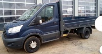 2014 FORD TRANSIT TIPPER PICK UP.LOCATION NORTH YORKSHIRE.