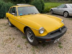 UNRESERVED 1979 MGB GT CLASSIC CAR.LOCATION NORTH YORKSHIRE.