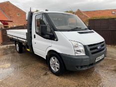 2010 FORD TRANSIT 100 T350M DIESEL DROPSIDE PICK UP5726 WARRANTED MILES..LOCATION NORTH YORKSHIRE.