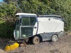 UNRESERVED JOHNSTON DIESEL SWEEPER.LOCATION NORTH YORKSHIRE.