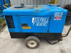 STEPHILL SSD10000 DIESEL GENERATOR .LOCATION NORTH YORKSHIRE