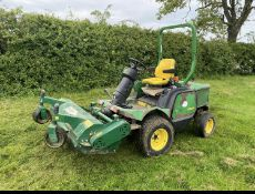 JOHN DEERE 1545 OUT FRONT FLAIL MOWER.LOCATION NORTH YORKSHIRE.