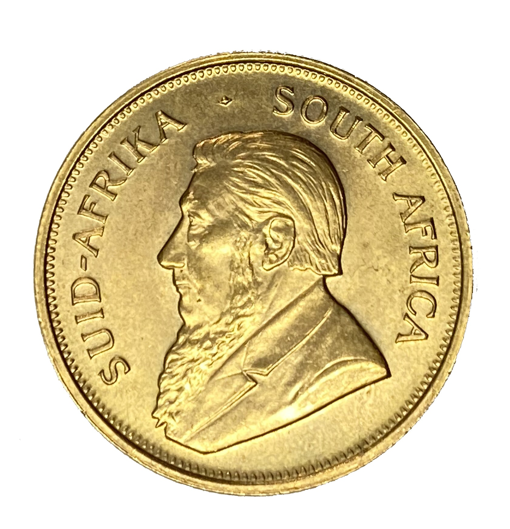 South Africa, gold Krugerrand coin, 1974