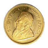 South Africa, gold Krugerrand coin, 1980