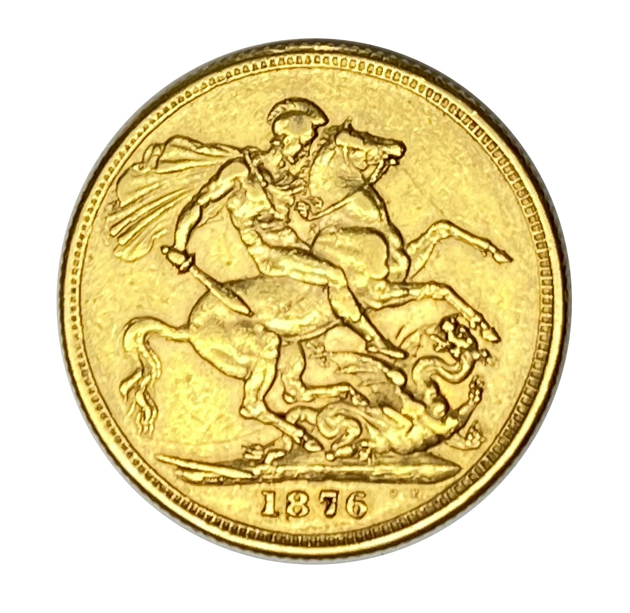Queen Victoria gold Sovereign coin, 1876 - Image 2 of 2