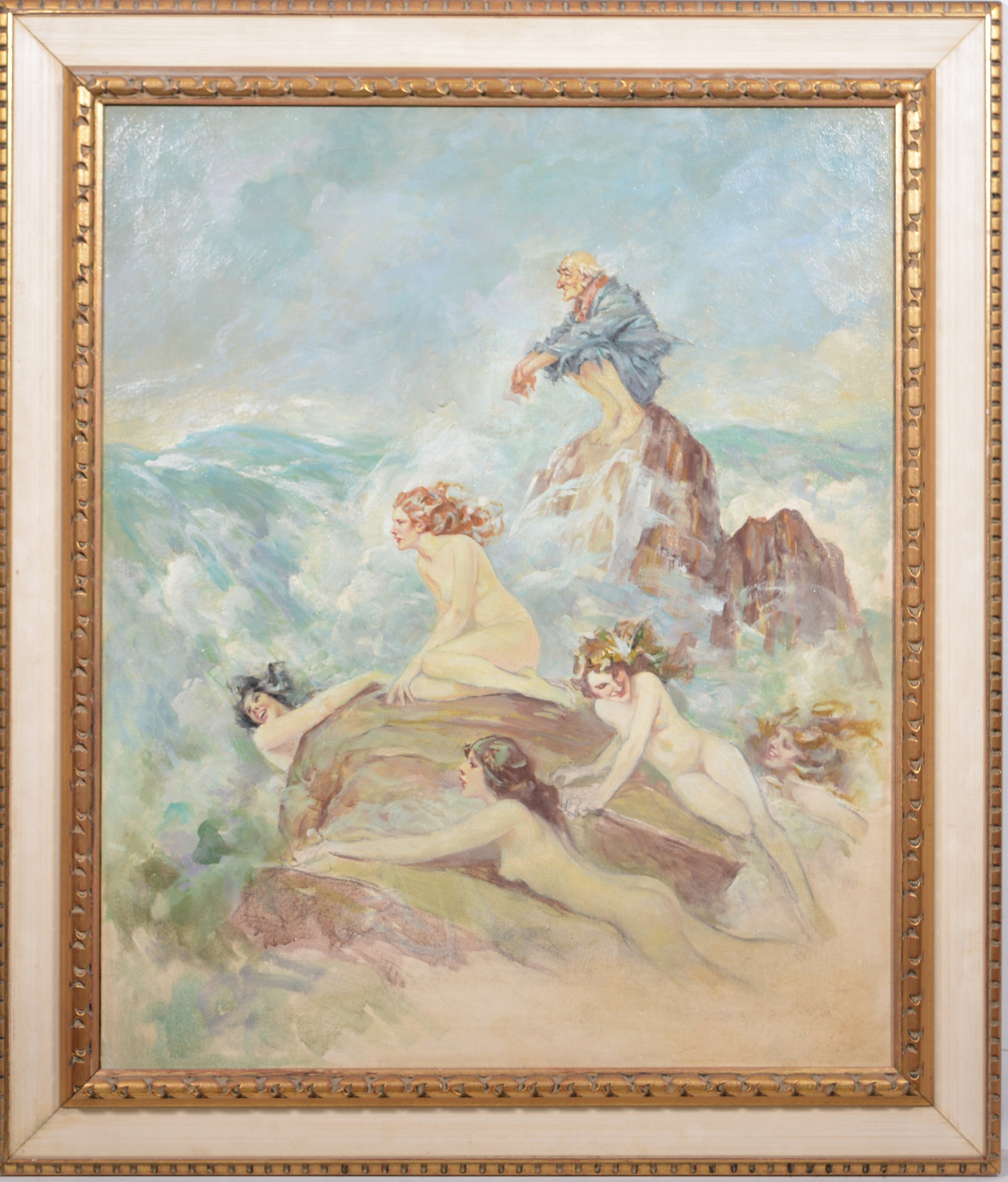 Follower of Norman Alfred William Lindsay, (Australian), Sirens - Image 2 of 5
