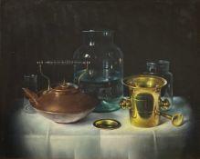 Paksy, Still Life with copper kettle