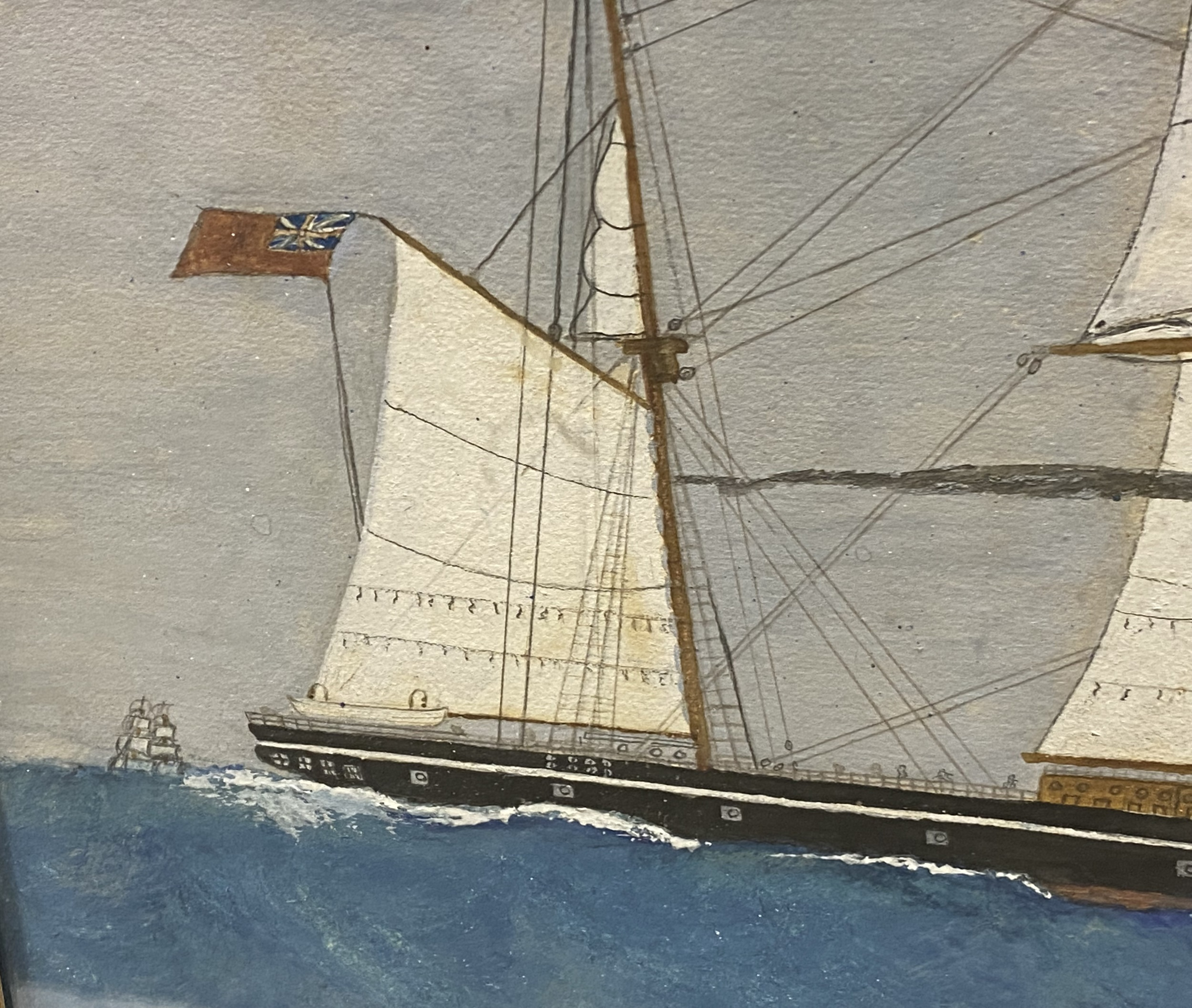 English School, early 20th Century, port painting - Image 4 of 8