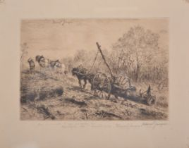 Marcel Jacque, The Log Wagon