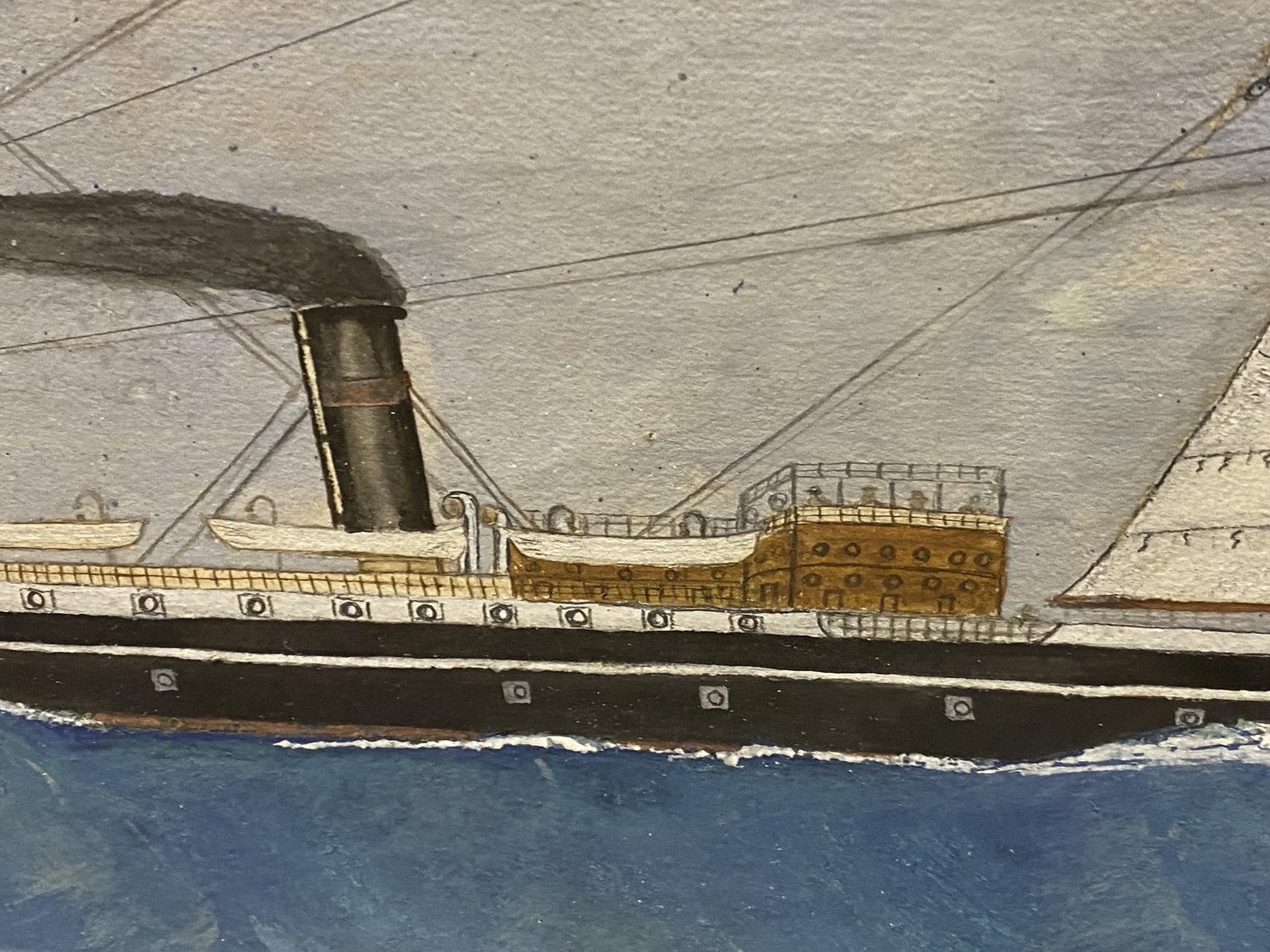 English School, early 20th Century, port painting - Image 3 of 8