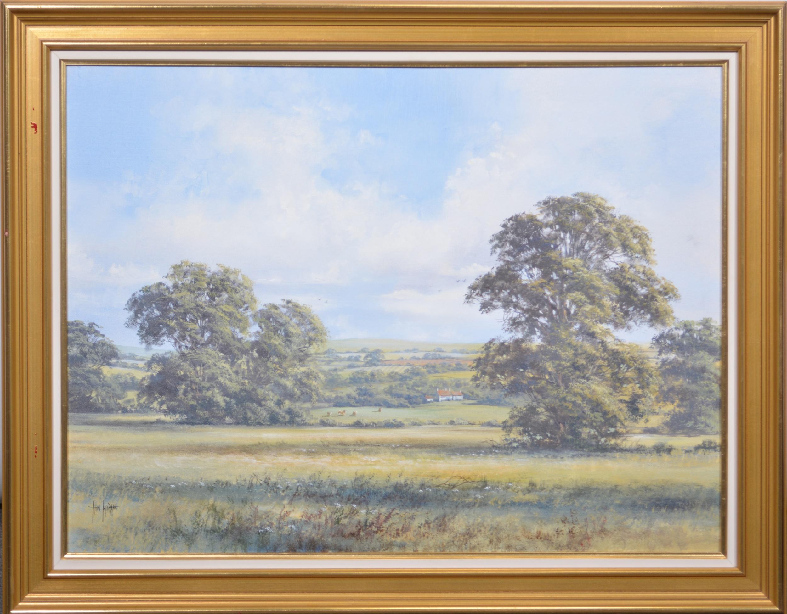 Allan Morgan, Country landscape - Image 2 of 4