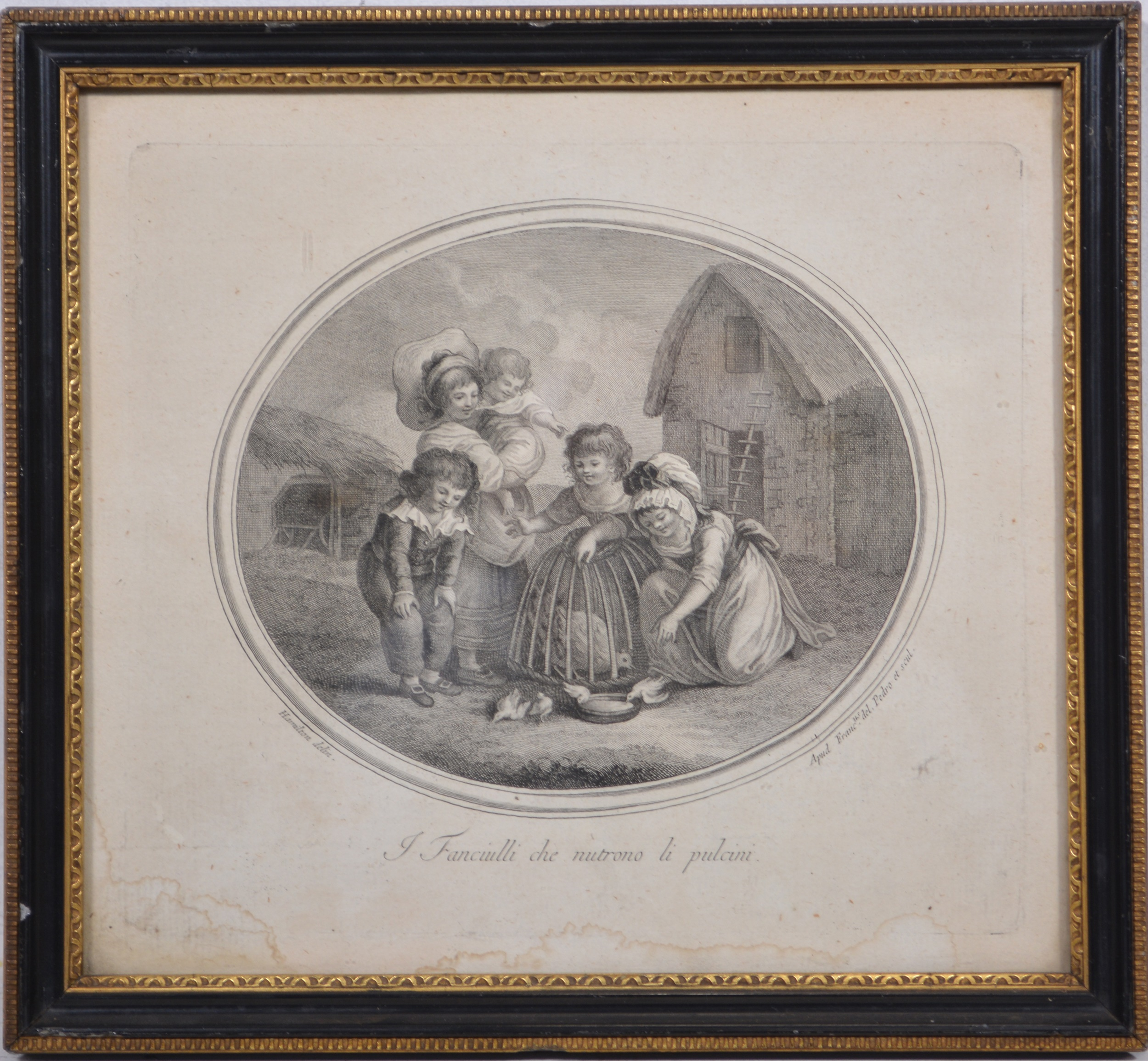 Gavin Hamilton, four engravings of children - Image 5 of 8
