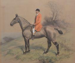 Basil Nightingale, Horse and Rider