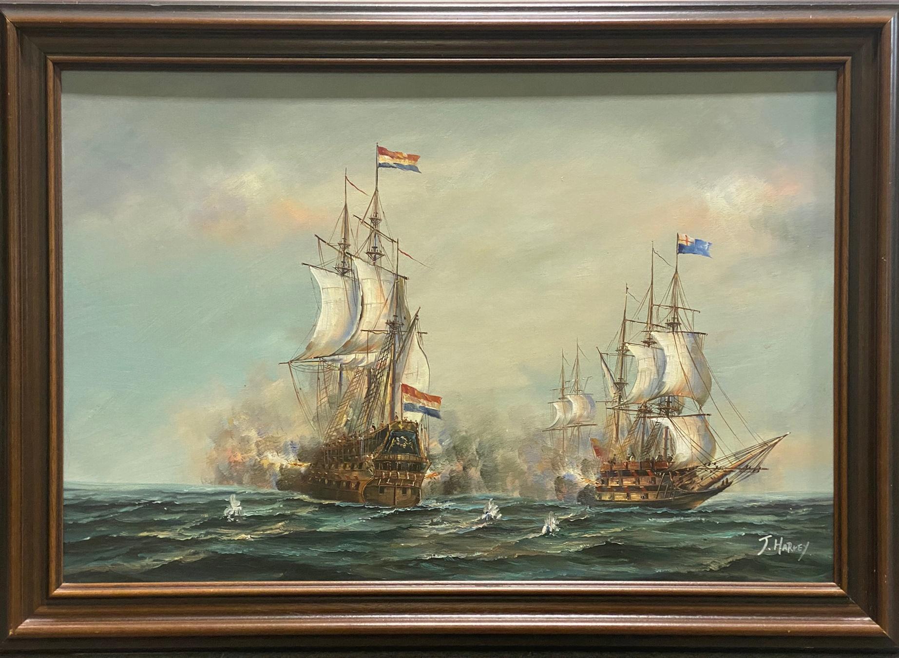 J Harvey, Naval battle - Image 2 of 4