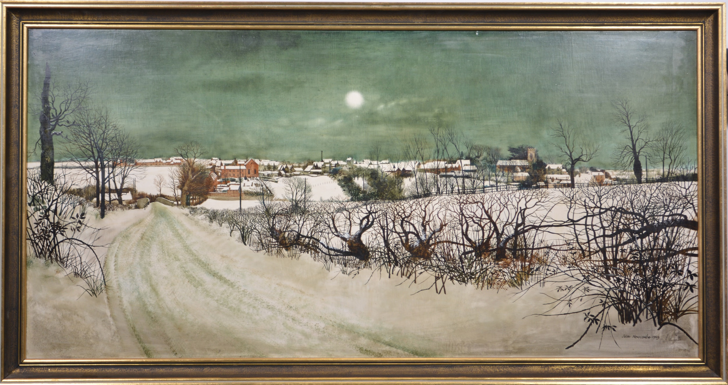 Peter Newcombe, Blisworth winter - Image 2 of 4