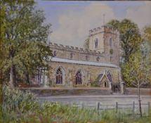 Albert H Findley, Barwell Church