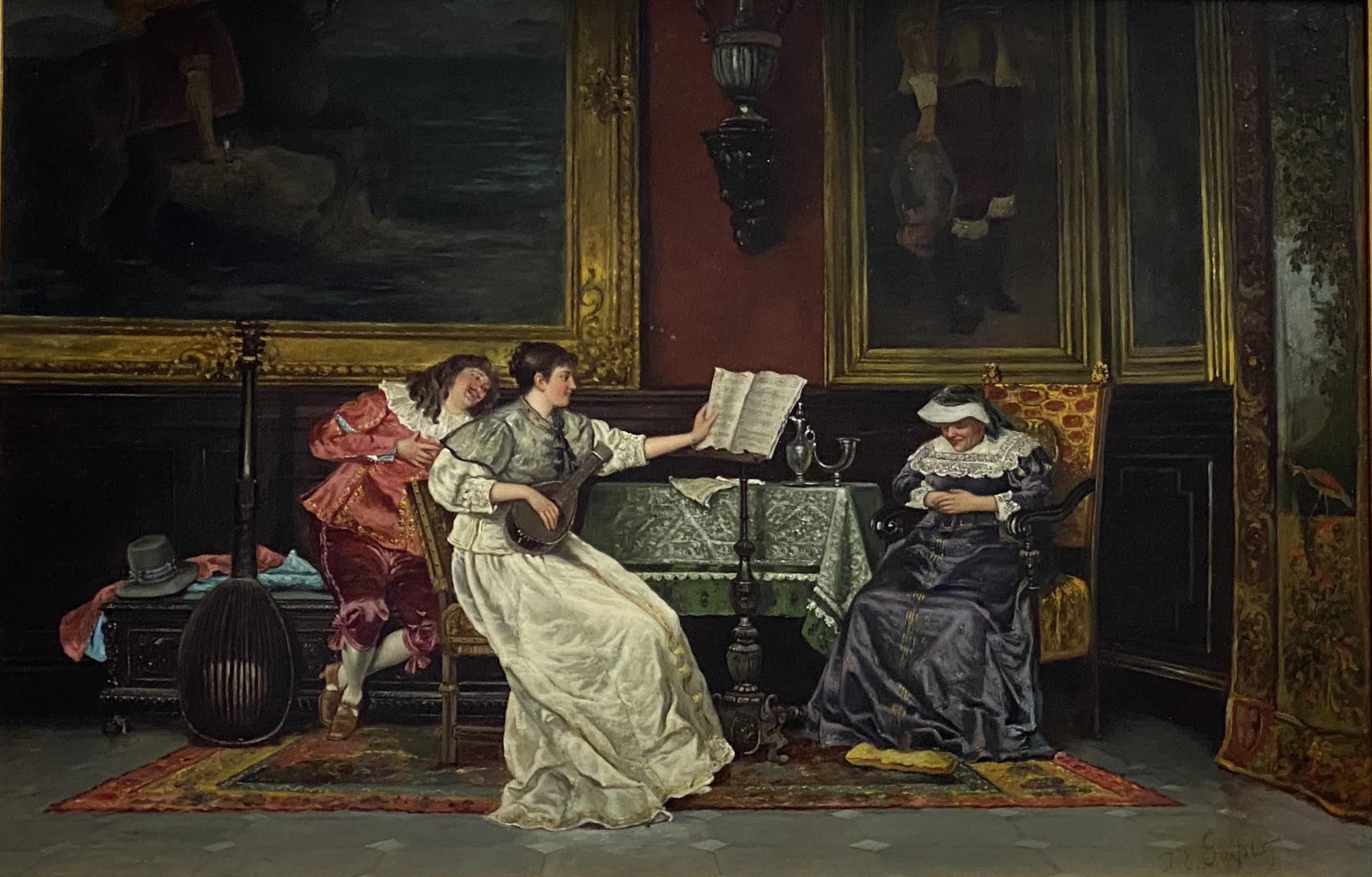 Jacob Emanuel Gaisser, Musical Evening