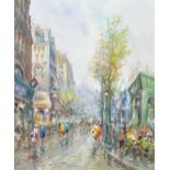 J Giordano, Parisian boulevard,