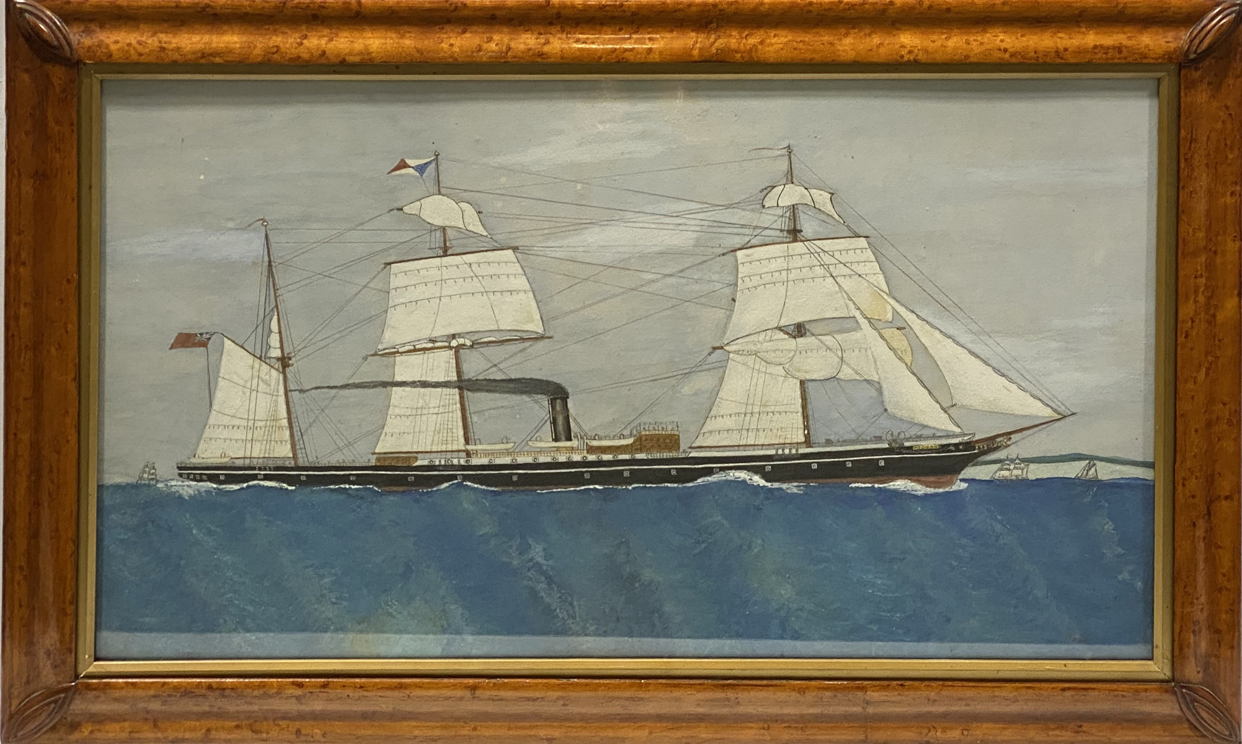 English School, early 20th Century, port painting - Image 2 of 8