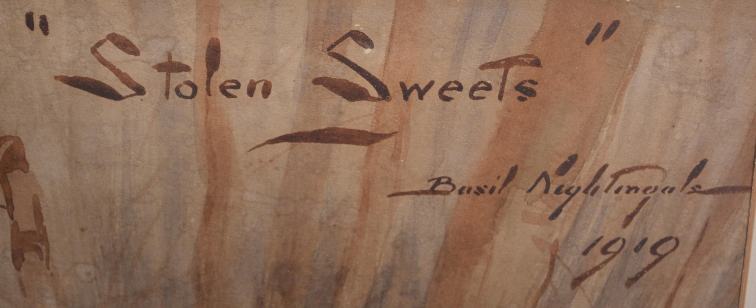 Basil Nightingale, Stolen Sweets - Image 3 of 4