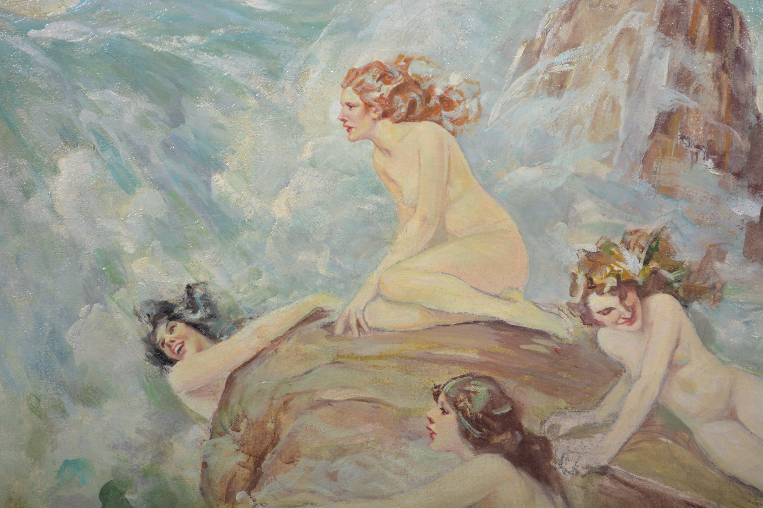 Follower of Norman Alfred William Lindsay, (Australian), Sirens - Image 4 of 5