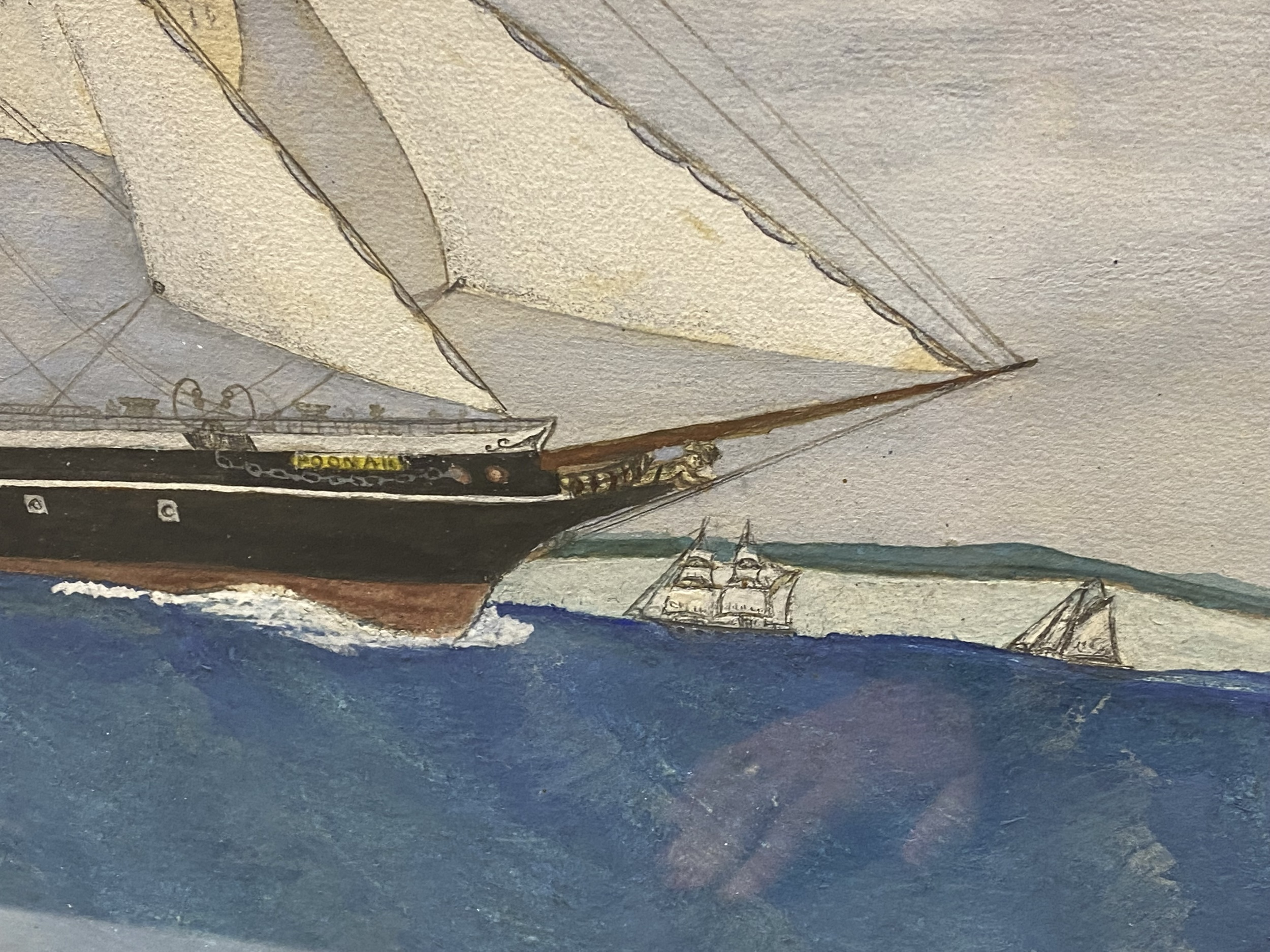 English School, early 20th Century, port painting - Image 6 of 8