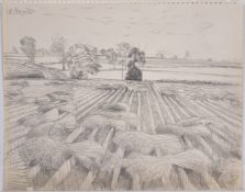 Attributed to John Aldridge, Harvest Field