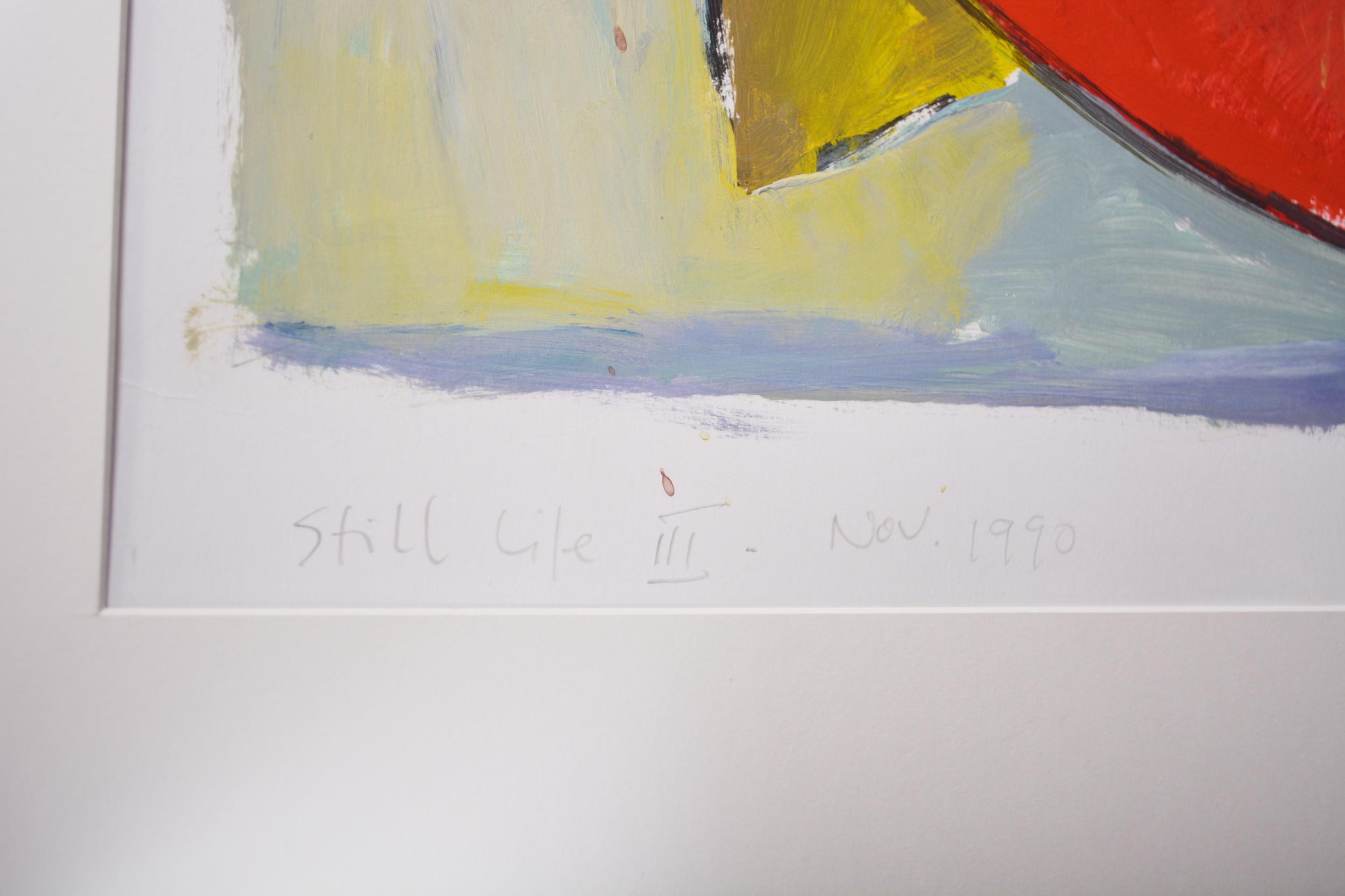 Philip Vencken - Still Life III - Image 4 of 5