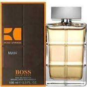 RRP £60 Unboxed Unused Ex-Display Tester Bottle Of Hugo Boss Boss Orange Man Eau De Toilette 100Ml S