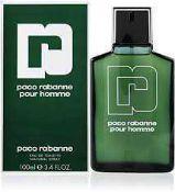 RRP £65 Unboxed Unused Ex-Display Tester Bottle Of Paco Rabanne Pour Homme Eau De Toilette Spray 100