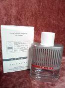 RRP £70 Boxed 100Ml Tester Bottle Of Prada Luna Rossa Edt Spray