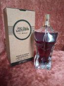 RRP £75 Boxed 125Ml Tester Bottle Of Jean Paul Gaultier Le Male Essence De Parfum Intense