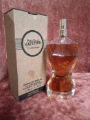 RRP £75 Boxed 100Ml Tester Bottle Of Jean Paul Gaultier Classique Essence De Parfum Intense