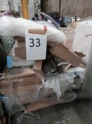 RRP £200 - Pallet To Contain 9 Boxes Of Part Lot Flat Pack Furniture